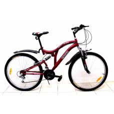 """Велосипед Иж-Байк Ranger 26"""" 18ск 2 аморт красный"""
