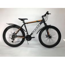 "Велосипед 26"" URMAN T19B221-26 рама 16,5 Classic черно-желтый disc (16)"