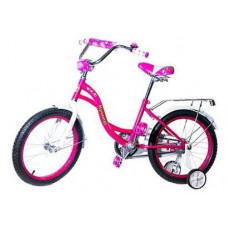 Велосипед двухколесный детский Кумир KL02 К1602 розовый
