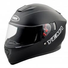 Шлем интеграл YM-830 YAMAPA (L) черный матовый, белый, серый матовый, внутренние солнцезащитные очки