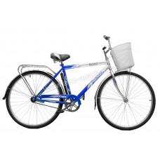 Велосипед Космос 28 (2806) 1ск рама+корзина