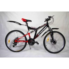 "Велосипед Иж-Байк Кросс 24"" 18ск диск торм перед, Shimano"