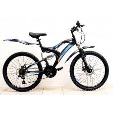 "Велосипед Иж-Байк TARGET 24"" 18ск диск торм перед задний, Shimano"