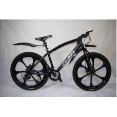 "Велосипед Иж-Байк Black 26"" 21скор лит диск тормоз"