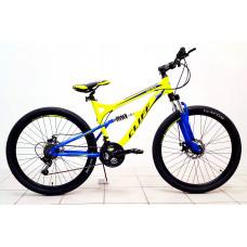 "Велосипед CLIFF 26"" 18ск 2аморт диск торм"