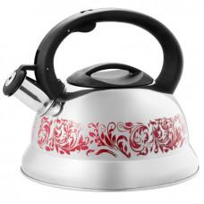 5500 Чайник нерж со свистком 3л меняет цвет при закипании