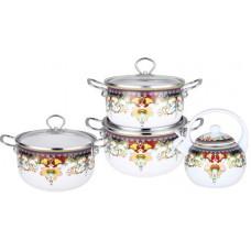 Набор посуды 7 предм KL-4442 эмаль