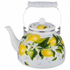 НМ 4611 чайник эмалированный с керам.ручкой ,4.3л