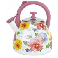 Чайник эмалированный ЭЛИС ЭЛ-307 (чайник 3л )