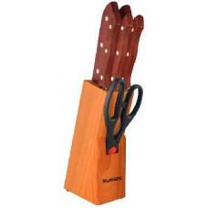Набор ножей на подставке 7 пр GB-01126