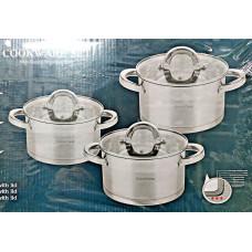 GP-2106 Набор посуды 6 предм нерж