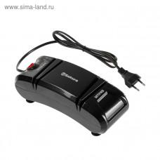 Электроножеточка SA-6604ВК черная