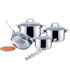 Набор посуды 9пр ВК-2864 нерж