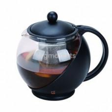 KTZ-12-001 Чайник заварочный стеклянный 1,2л
