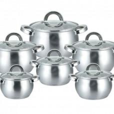 GP-2112 Набор посуды 12 предм нерж