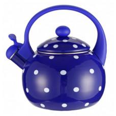 Z-4115-02 Чайник со свистком 2,5л эмаль