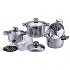 Набор посуды 9пр ВК-2865 нерж