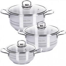 80270 Набор посуды 6пр с/кр 2л-2,5л-3л МВ