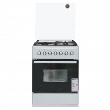 Газовая плита с электрической духовкой De Luxe 606031.00ГЭ 001 (кр) чр