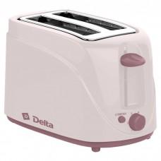 Тостер DELTA DL-080 6 позиций бежевый