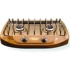 Плита газовая настольная GEFEST ПГ 700-02 коричневая