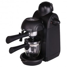 Кофеварка DELTA LUX DL-8159К черная рожковая 240мл 900Вт 7 бар