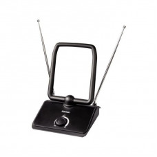 Антенна телевизонная Hama H-44273 40дБ активная черный