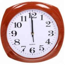 """2323-293BI Часы настенные круг d=23см, корпус синий """"Классика"""""""
