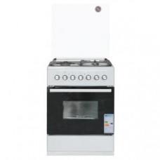 Газовая плита с электрической духовкой De Luxe 606031.00ГЭ 003 (кр) чр