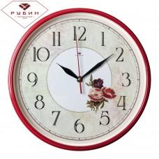"2940-101 Часы настенные круг ""Красные маки"""
