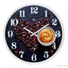 """3030-775 Часы настенные """"Любить кофе"""""""