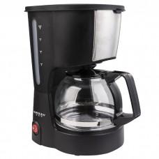 Кофеварка DELTA LUX DL-8161 черная 600Вт