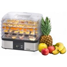 Сушилка для овощей и фруктов Delta lux DE-2500 бел/малиновый, + йогуртница