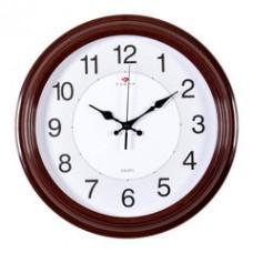 3028-142R Часы настенные красные