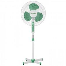 Вентилятор напольн DELTA DL-020N белый с зеленым