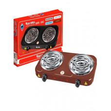 Плитка электр Чудесница ЭЛП-802 коричневая 2конф