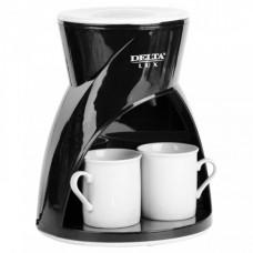 Кофеварка DELTA DL-8131 черная