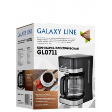 Кофеварка электрическая Galaxy LINE GL0711 1100Вт объем 1,8л
