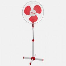 Вентилятор напольн DELTA DL-001N белый с красным