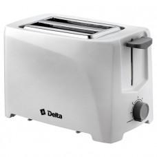Тостер DELTA DL-6900 700Вт 6 позиций белый
