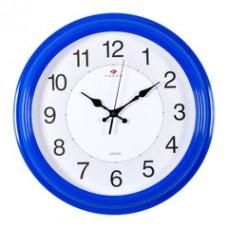 3028-142R Часы настенные синие