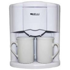 Кофеварка KELLI KL-1491 на 2 чашки