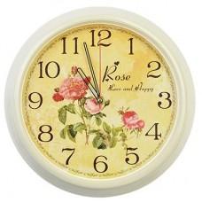 """3024-141 Часы настенные круг """"Розы"""""""