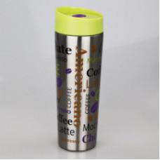 Термокружка вакуумная Alpenkok нерж АК-04020А КОФЕ 400мл