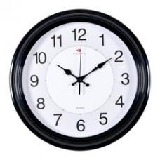 3028-142R Часы настенные черные