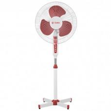 Вентилятор напольн DELTA DL-020N белый с красным
