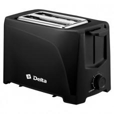 Тостер DELTA DL-6900 700Вт 6 позиций черный