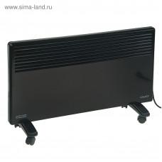 Обогреватель Galaxy GL 8228 черный конвекционный 1200Вт, 2 режима работы