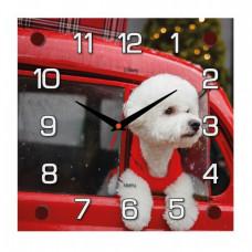 """2525-108 Часы настенные """"Любопытный пассажир"""""""