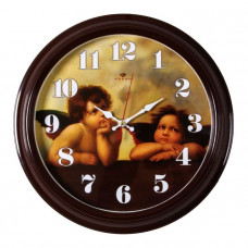"""3527-123 Часы настенные круг """"Ангелы Рафаэля"""""""